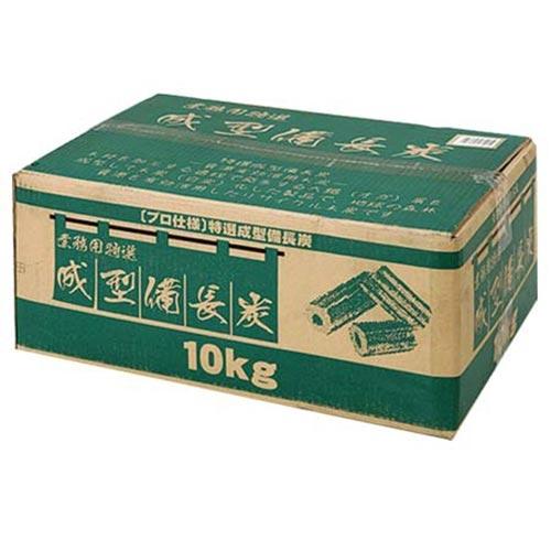 バンドック BUNDOK バーベキュー 業務用成型備長炭10kg BD-361