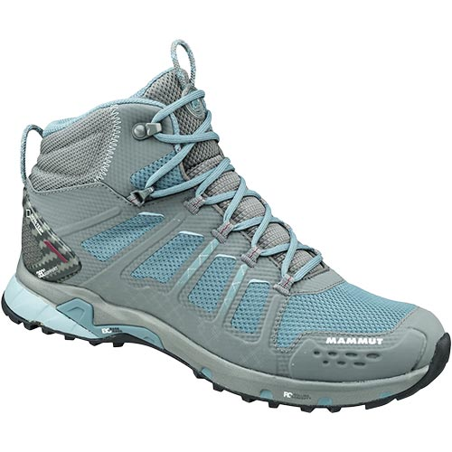 マムート MAMMUT レディース T Aenergy Mid GTX Women 00038 grey-dark air 3020-05620