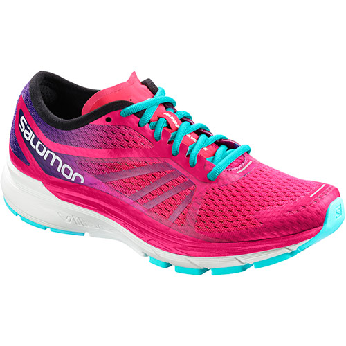 サロモン SALOMON ソニックRAプロ ウィメンズ SONIC RA PRO W PINK YARROW/SURF THE WEB/BLUE CURACAO L40144100 レディース