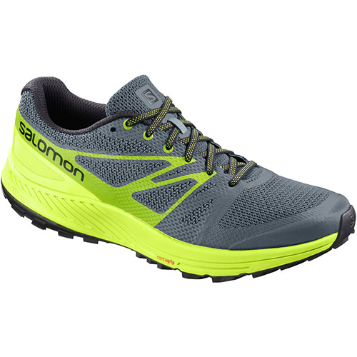 サロモン SALOMON センスエスケープ SENSE ESCAPE STORMY WEATHER/ACID LIME/LIME GREEN L40091800 メンズ
