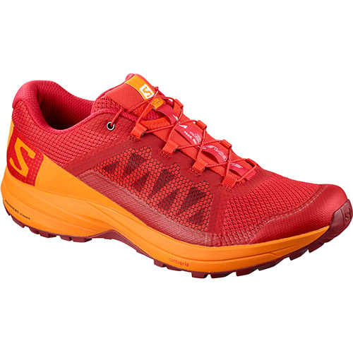 サロモン SALOMON XAエレベート XA ELEVATE BARBADOS CHERRY/BRIGHT MARIGOLD/SYRAH L40132400 メンズ