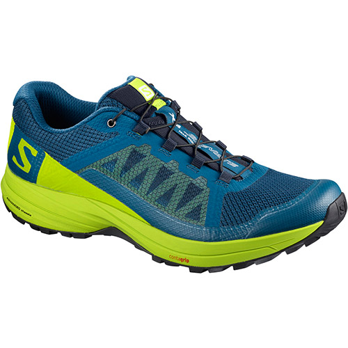 サロモン SALOMON XAエレベート XA ELEVATE POSEIDON/LIME GREEN/BLACK L40006400 メンズ