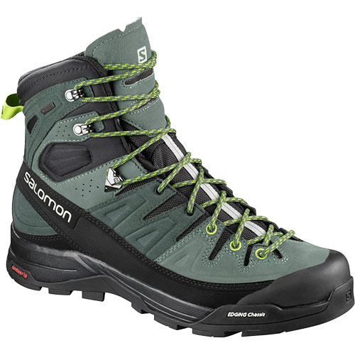 サロモン SALOMON XアルプハイLTRゴアテックス X ALP HIGH LTR GORE-TEX URBAN CHIC/BALSAM GREEN/LIME GREEN L40164900 メンズ