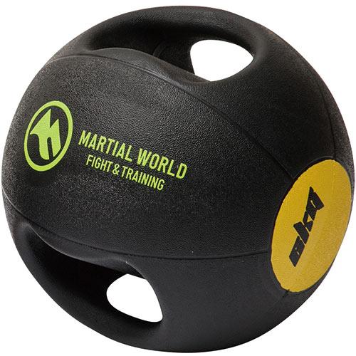 MARTIAL WORLD マーシャルワールド メディシンボール ダブルグリップタイプ 6kg MB6