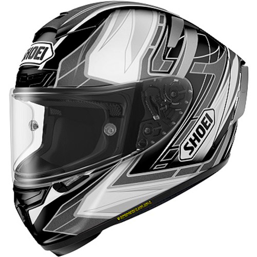 ショウエイ SHOEI X-Fourteen ASSAIL BLACK/SILVER TC-5
