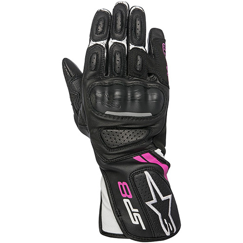 アルパインスターズ Alpinestars ステラ SP-8 レザーグローブ STELLA SP-8 LEATHER GLOVE BLACK/WHITE/FUCHSIA