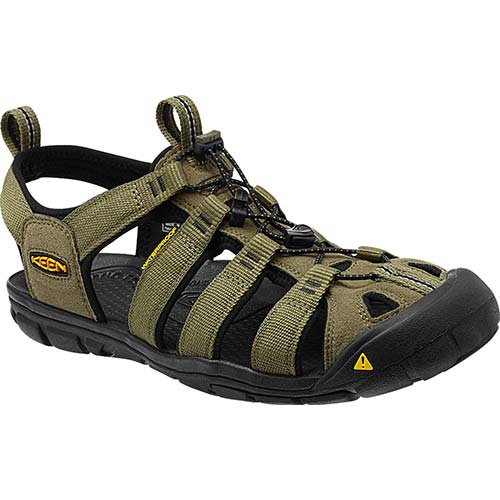 KEEN キーン MEN Clearwater CNX メンズ クリアウォーター BURNT-OLIVE/BLACK 1012528