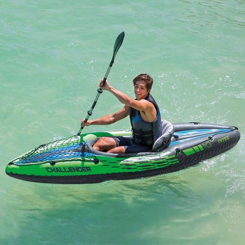INTEX インテックス チャレンジャーK1 カヤック レジャーボート 274cm×76cm×33cm 68305