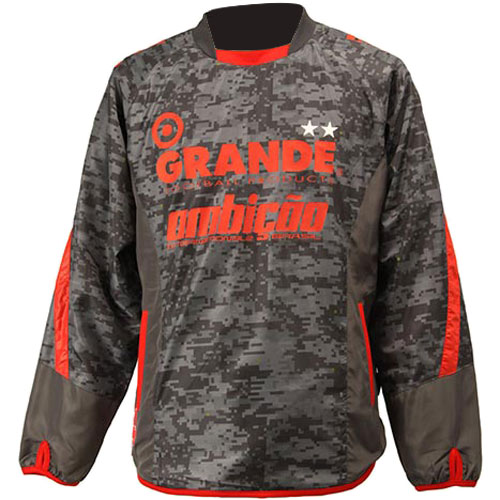 GRANDE グランデ DISITAL CAMO ピステ ジャケット GFPH15503 GRY/RED