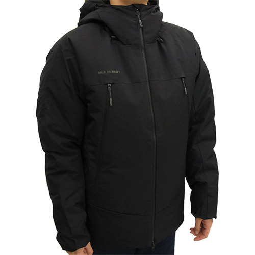MAMMUT マムート メンズ フーデッドジャケット Crater SO Thermo Hooded Jacket AF Men ブラック 1011-00780 0001