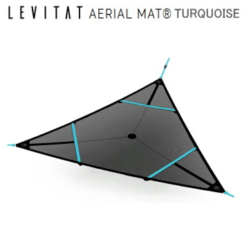 LEVITAT Aerial Mat エアリアルマット ターコイズ ループ有り OL1904AM-02DT ツリーハンモック 送料無料【SP】