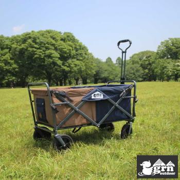 キャリーカート キャリーワゴン grm outdoor GO0401F 60/40Cloth All-Lamd CarryWagon BROWN 送料無料【SP】