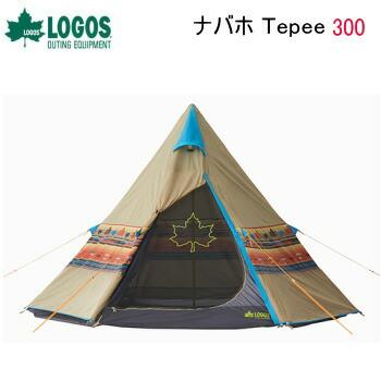 送料無料 テント ティピーテント ワンポールテント アウトドアテント アウトドア キャンプ ナバホ 71806501 SP 人気ブランド多数対象 LOGOS Tepee ロゴス 300 オンラインショップ