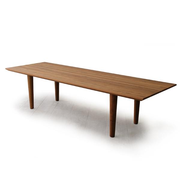 送料無料 Masterwal LINE SOFA TABLE135 LIST135(cc-wn)【マスターウォール ラインソファテーブル ウォールナット オイルフィニッシュ 】