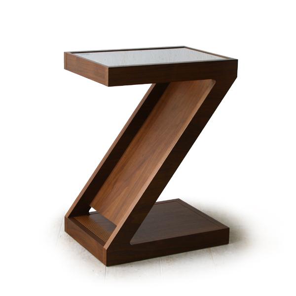 【最大2000円クーポン発行中】MARUMIYA MARION STAND TABLE(Walnut)(cc-wn)【マルミヤ マリオンスタンドテーブル ウォールナット無垢材 サイドテーブル】