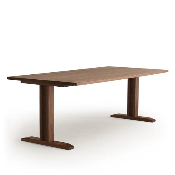 送料無料 Masterwal RITZ LOW DINING TABLE(cc-wn)【マスターウォール リッツローダイニングテーブル ウォールナット オイルフィニッシュ 】