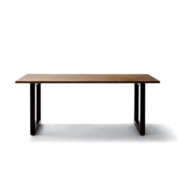 MASTERWAL ワイルドウッドダイニングテーブル T26 D950mm(スチールレッグス/ウォールナット)(W1000~2400)【マスターウォール wildwooddiningtable steellegs 無垢材 オイルフィニッシュ アカセ木工 正規販売店 送料無料】