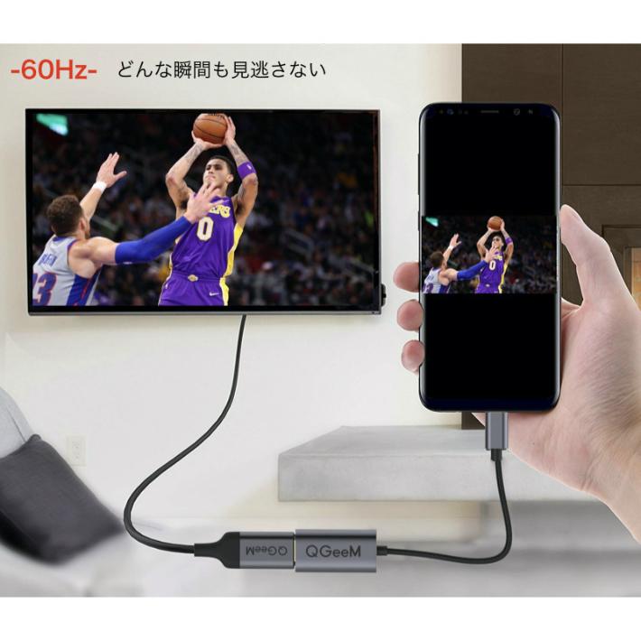 【楽天市場】Type-C HDMI アダプタ 4K 60Hz ケーブル タイプC MacBook IPad Pro