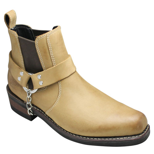 【ALPHA(アルファ)】グッドイヤーウェルト製法のプルオンハーネスブーツ・AFB20011(ブラウン)・【送料無料(北海道・沖縄除く)】/メンズ 靴