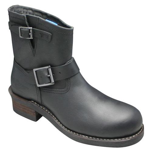 【海外 正規品】 【ALPHA(アルファ) 靴】グッドイヤーウェルト製法のエンジニアショートブーツ・AFB20014(ブラック)・【送料無料(北海道・沖縄除く)】/メンズ 靴, アウトレット家具 セピヤ:7fc1d9ea --- phcontabil.com.br