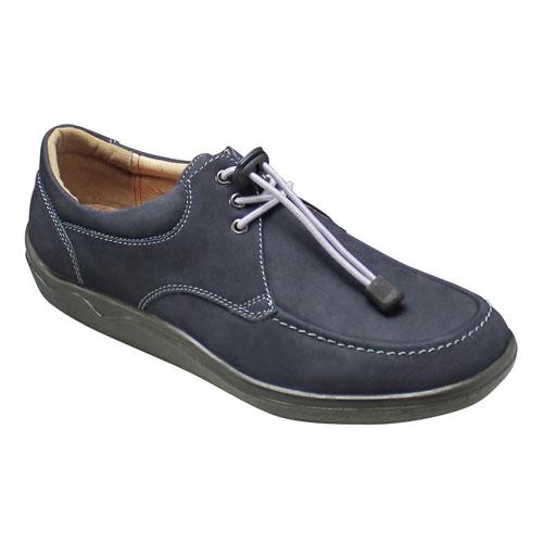【ARUKURUN(アルクラン)】快適なウォーキングを実現する撥水加工のコンフォートカジュアルシューズ(ゴム紐)3E・AR1107(ネイビー)/メンズ 靴