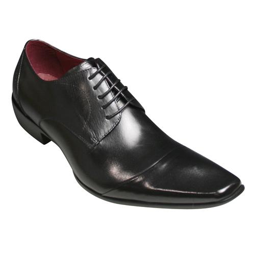【Bump N' GRIND(バンプ アンド グラインド)】有機的なデザインが魅力の牛革ドレスシューズ(レース)・BG4000(ブラック)/メンズ 靴