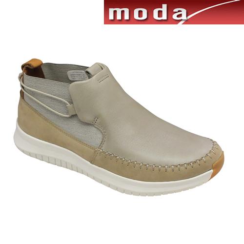 クラークス カジュアルショートブーツ 011J サンド Clarks メンズ 靴