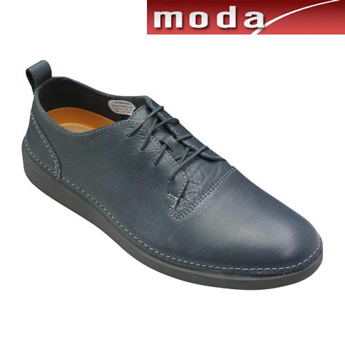 クラークス カジュアルシューズ プレーン ラウンドトゥ 012J グレー Clarks メンズ 靴
