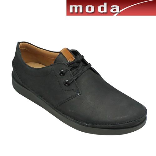 クラークス カジュアル タウンシューズ 014J ブラック Clarks メンズ 靴