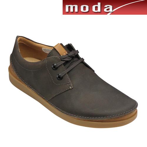 クラークス カジュアル タウンシューズ 014J ダークブラウン Clarks メンズ 靴