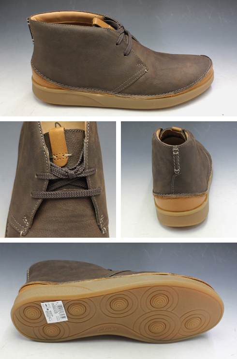 cheaper buy best quality Kulaki chukka boots 015J dark brown Oakland Rise Oakland rise Clarks men  shoes