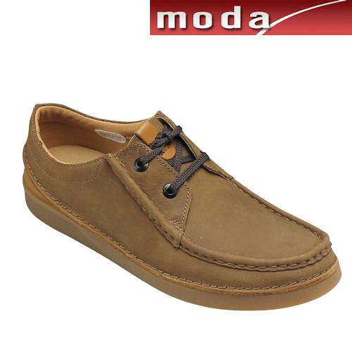 クラークス カジュアルシューズ Uモカシン 016J タン Oakland Seam オークランドシーム Clarks メンズ 靴