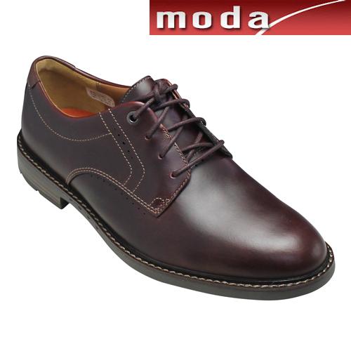 クラークス レースアップ ドレカジシューズ 615E バーガンディ Unelott Plain UNエロットプレイン Clarks メンズ 靴