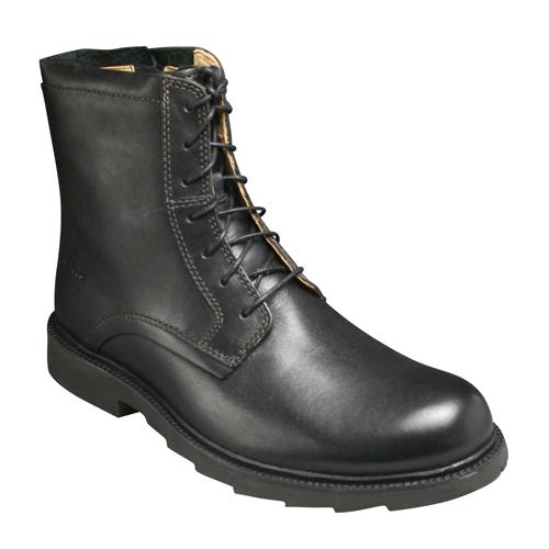 【Clarks(クラークス)】牛革レースアップブーツRamsay Tall(ラムゼイ トール)・090C(ブラック) ・20306463/メンズ 靴