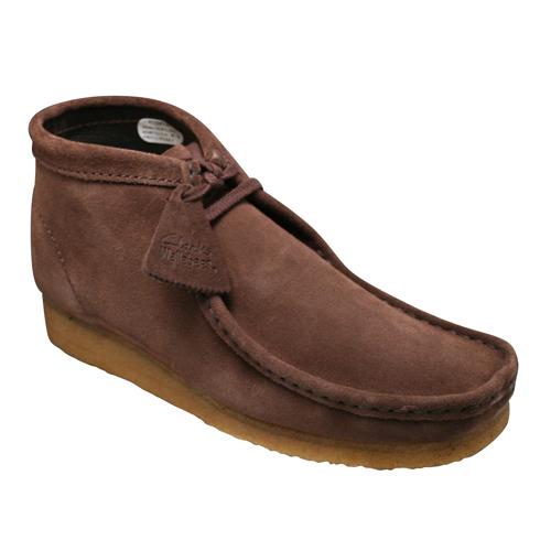 【Clarks(クラークス)】クラークスを代表するモデル・WALLABEE BOOT(ワラビーブーツ)・886C(ブラウンスエード)20352273/メンズ 靴