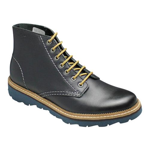 【CLARKS(クラークス)】カラーソールの軽量シティーワークブーツ・FRELAN RISE(フレラン ライズ)・166E(ブラック)26102984/メンズ 靴