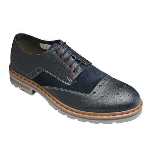 【Clarks(クラークス)】Dargo Limit(ダーゴリミット)・411E (ネイビー)/26110286/メンズ 靴