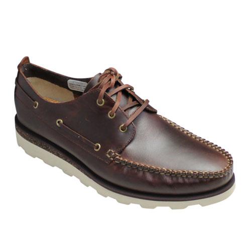 【Clarks(クラークス)】デッキタイプのドレスカジュアル・Dakin Row(デーキン ロウ)・422E (ブラウン)/26110342/メンズ 靴