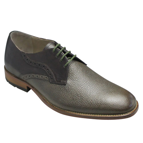 【Clarks(クラークス)】Penton Walk(ペントン ウォーク)・469E(ダークブラウン)/ビジネスシューズ(プレーントゥ)/替え紐付き/スコッチグレイン/26109770/メンズ 靴