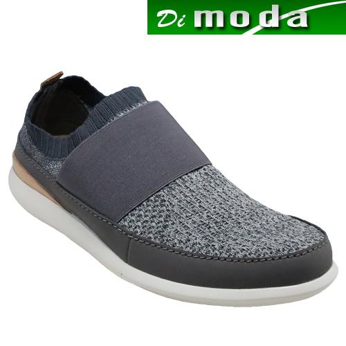 クラークス/カジュアルシューズ・Pitman Step(ピットマンステップ)・710E(グレイ)26125934/clarks メンズ 靴