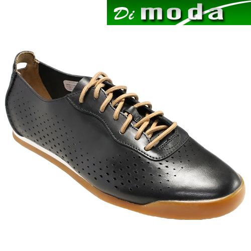 クラークス/レースアップレザースニーカー・Siddal Run(シッドルラン)・713E(ブラック)26123323/clarks メンズ 靴