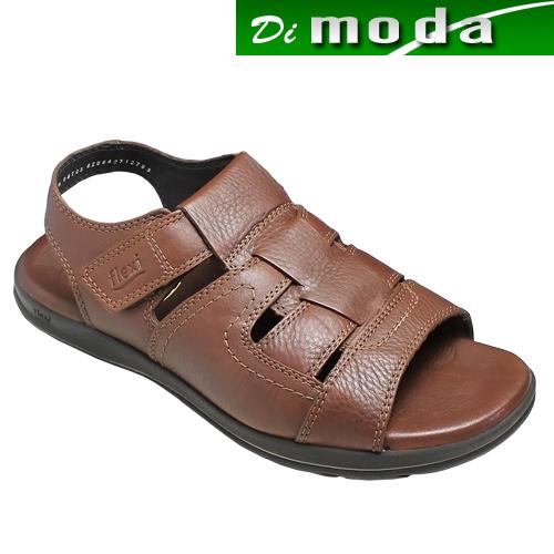 フレキシー メンズ/メキシコ製の牛革のスポーツサンダル(バックベルト) 靴・fx98703(ブラウン)/flexi メンズ 靴, marine View:5b2d882f --- jpworks.be