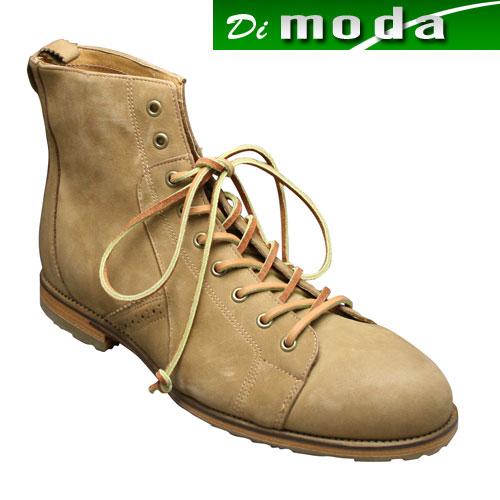 【J SHOES(ジェイ シューズ)】素材の良さとオシャレなカラーリングのモンキーブーツ・JS1114(ベージュ)/メンズ 靴
