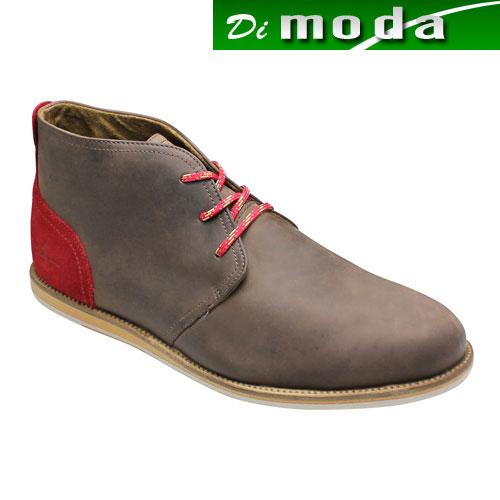 【J SHOES(ジェイ シューズ)】カラフルなカラーリングのジョージブーツ・JS1224(ダークブラウン)/メンズ 靴