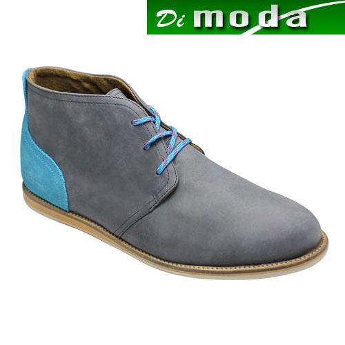 【J SHOES(ジェイ シューズ)】カラフルなカラーリングのジョージブーツ・JS1224(【JSHOES(ジェイシューズ)】カラフルなカラーリングのジョージブーツ・JS1224(ダークグレー)/メンズ 靴