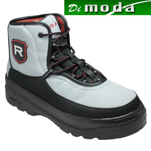 【REGAL(リーガル)】ナイロン素材のウインターブーツ(レースアップ)・69JR(グレー)/メンズ 靴
