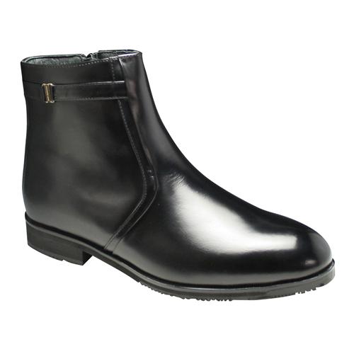 【Do Walk(ドゥ ウォーク)】4Eの幅広でラウンドトゥのドレスブーツ・SPDW4534(ブラック)/メンズ 靴