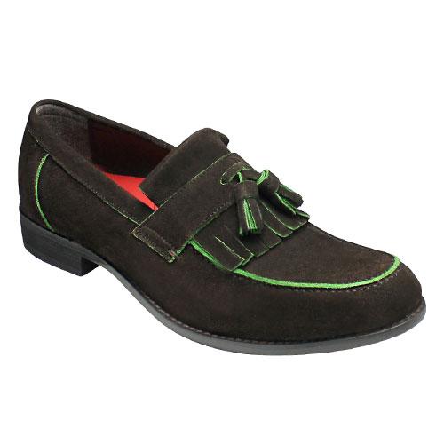 新品同様 【hiromichi nakano(ヒロミチ ナカノ)】イーストコートの雰囲気漂うスエード素材のスリップオン(キルトタッセル) 靴・381H(ダークブラウンベロア)/メンズ【hiromichi 靴, CoCo Ceylon:3e7843af --- phcontabil.com.br