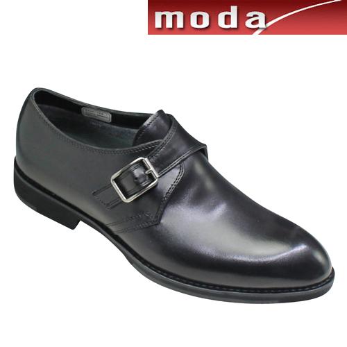 ケンフォード ビジネスシューズ サイドベルト プレーントゥ 全天候型 KN43 ブラック KENFORD メンズ 靴
