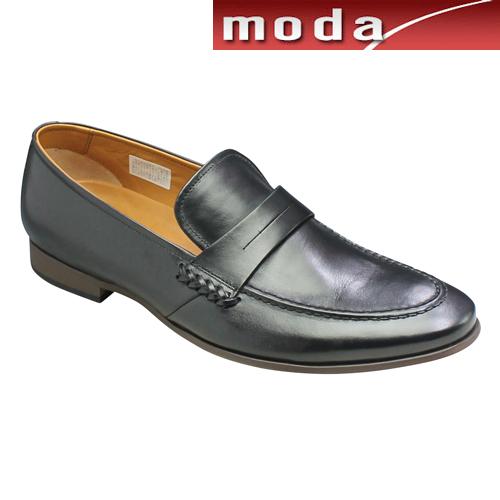 キャサリンハムネット ビジネスシューズ モンク スリッポン ポインテッドトゥ KH31610 ブラック KATHARINE HAMNETT メンズ 靴